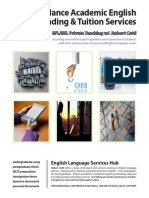 Robert Cettl Academic English Services