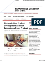 Electronic Product Development_ Manufacturing cost estimation.pdf