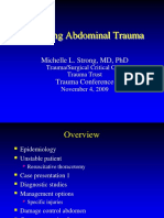 Penetrating Abdominal Trauma