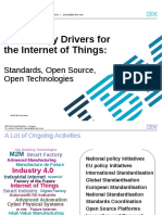 Technology Drivers for the Internet of Things