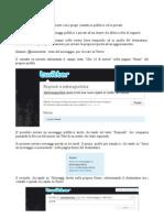 Twitter per Giuristi - 1.4 Come comunicare direttamente con i propri contatti in pubblico ed in privato