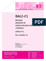 AIL DALC-C1 Business Test Modello 13