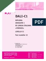 Ail Dali-c1 Test Modello 12