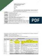 Programa - Com as Divisões Dos Seminários