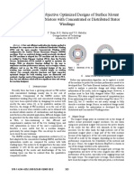 A15. Method for Multi-objective Optimized Designs of Surface Mount Permanent Magnet Motors With Concentrated or Distributed Stator