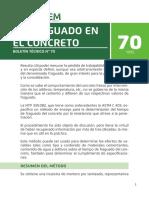 Boletin 70 El Fraguado