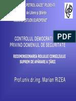 10_Controlul Democratic Civil Privind Domeniul de Securitate