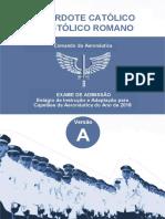 Aeronautica 2017 Ciaar Primeiro Tenente Sacerdote Apostolico Prova