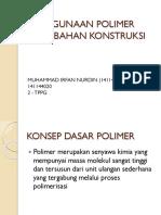 Penggunaan Polimer Pada Bahan Konstruksi 2