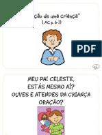 """""""Oração de uma criança"""" (MC, p.6-7)"""