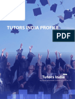 TUTORS INDIA PROFILE – 2017 | Academic Reseach Consulting Firm | Dissertation Writing Services