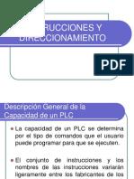 Instrucciones y Direccionamiento Plc