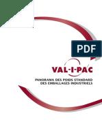 Panorama Poidsstandard Emballindustiel