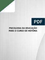 Livro 02 - Psicologia da Educação Para o Curso de História.pdf