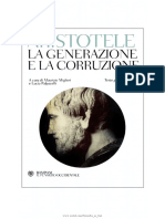 Aristotele, De Generatione Et Corruptione