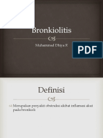 Bronkiolitis belajar dhiya
