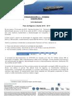 Fato Relevante Petrobras PNG 2015 2019
