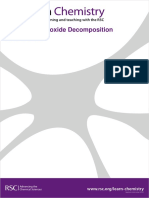Hydrogen peroxide decomposition.pdf