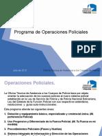 Operaciones Policiales