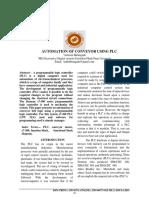 AUTOMATION OF CONVEYOR USING PLC.pdf