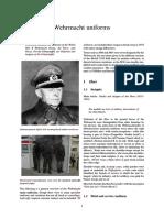 Wehrmacht Uniforms
