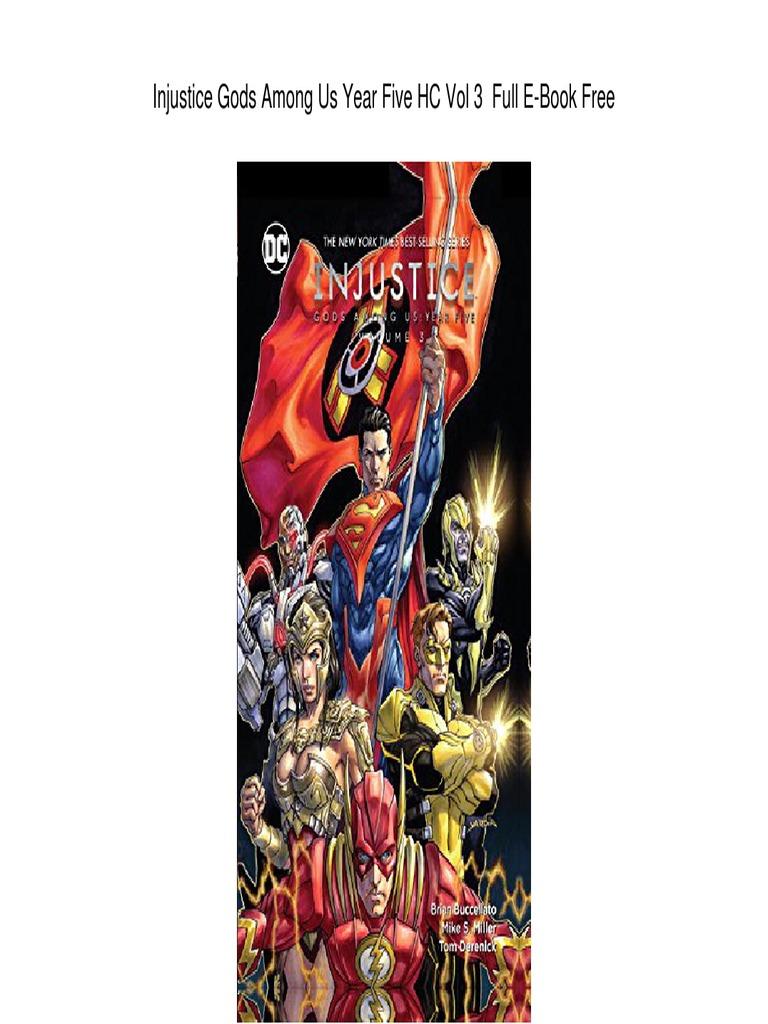 Injustice Gods Among Us Year Dc Comics E Books