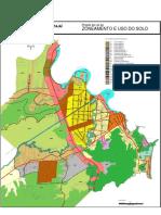 Mapa de Zoneamento e Uso Do Solo Lei Complementar 215-12