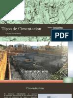 TIPOS CIMENTACION
