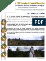 Boletín 2 Encuentro Nacional de Caminantes