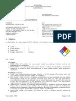 Anexo a - Datos de Seguridad de Gas Natural