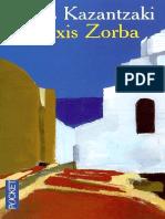 Zorba Alexis - Kazantzakis Nikos