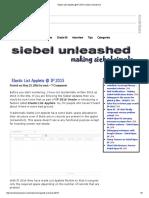 Elastic List Applets @ IP 2015