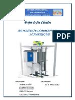PFE Ascenseur Command 233 en Num 233 Rique PDF Www Cours-electromecanique Com