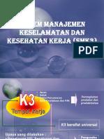 SMK3 Untuk AK3U Gabung Dengan Penerapan
