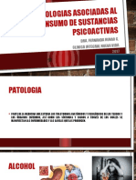 Patologias Asociadas Al Consumo de Sustancias Psicoactivas