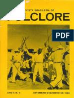 Revista do folclore Brasileiro Cameu 1962
