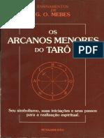 MEBES, G.O - Os Arcanos Menores Do Taro