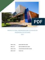 Proyecto Emprendores 2017.2 Final