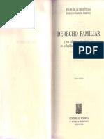 Libro, De la Mata Pizaña Felipe-Garzon Jimenez Roberto, Derecho Familiar.pdf