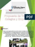 Propuesta Fundación Colombia Colegios y Empresas