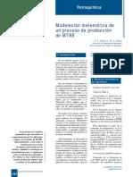 394-242 Modelación Matemática de Un Proceso de Producción de MTBE