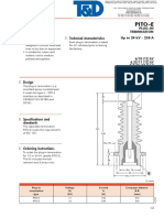 Euromold Elastimold PITO E Plug in Termination Up to 24kV 250A