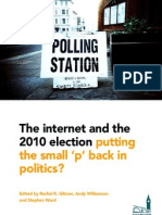 The internet and the 2010 election