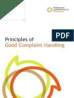 0188 Principles of Good Complaint Handling Bookletweb