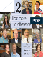 12 That Make a Difference