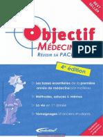 Camille Marie, Bertrand Boutillier-Objectif Médecine _ Réussir Sa PACES-Médicilline