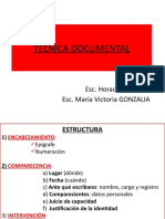 TECNICA DOCUMENTAL CURSO 26-10-16 %282%29.pptx