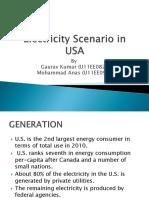 Electricity Scenario in USA