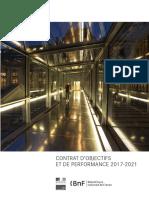 Le Contrat de Performance 2017-2021 de la BnF
