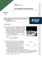PAU Física 2013 Enunciat